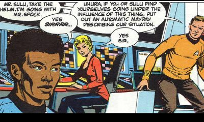 uhura bianca e sulu nero in star trek