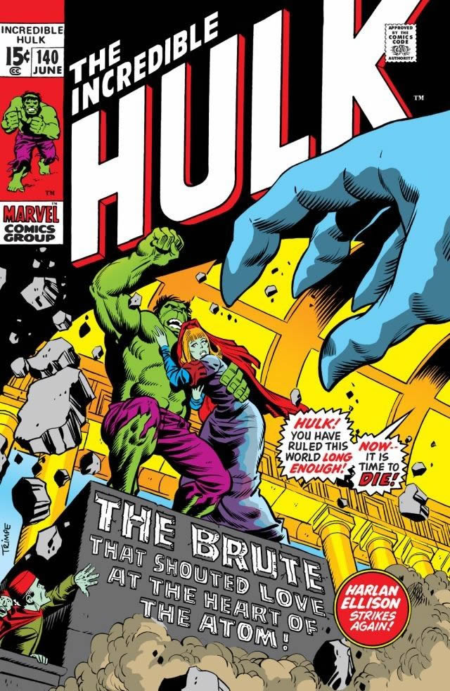 incredible hulk 140 harlan ellison