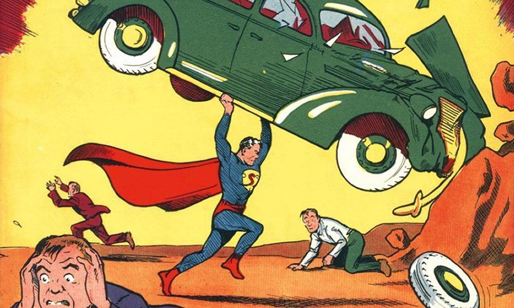 action comics 1 la copertina