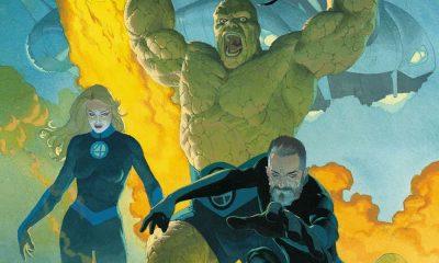 Fantastic Four 1 - Cover di Esad Ribic