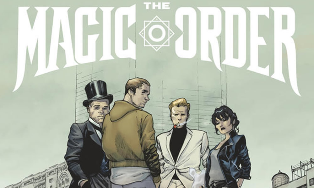 The Magic Order primo fumetto di Netflix