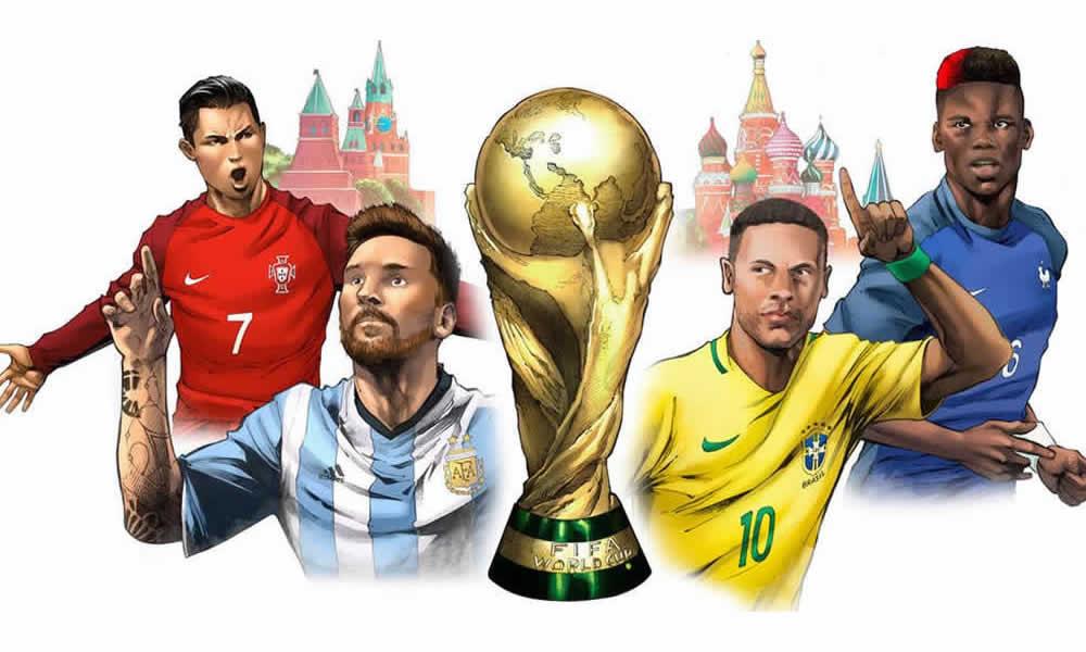 mondiali di calcio a fumetti con la Marvel