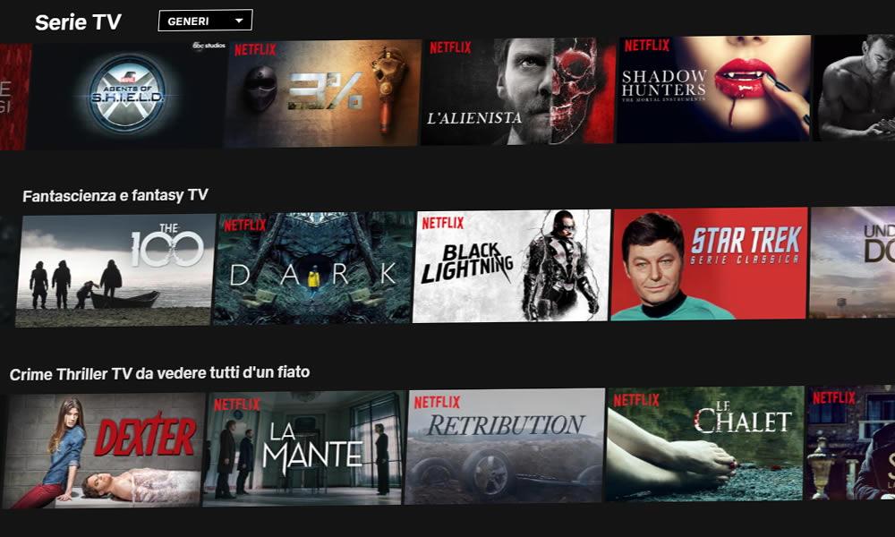 Netflix ordina le serie tv away e kaos