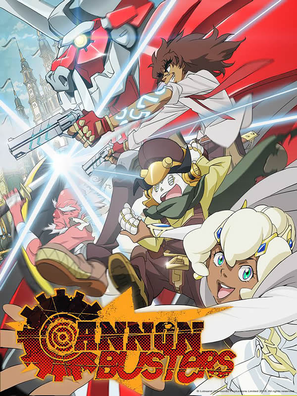 Cannon Busters - Anime Netflix