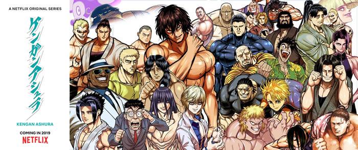 Kengan Ashura - Anime Netflix
