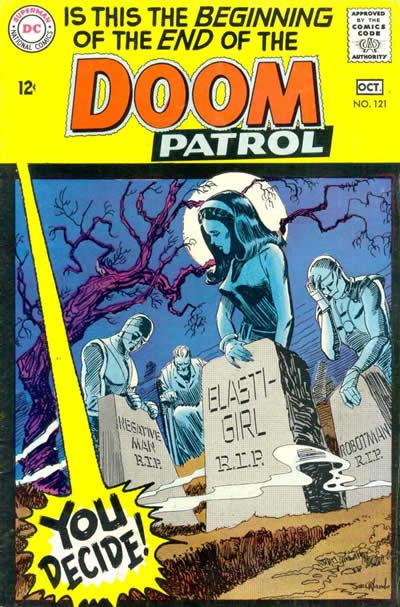 Doom Patrol 121