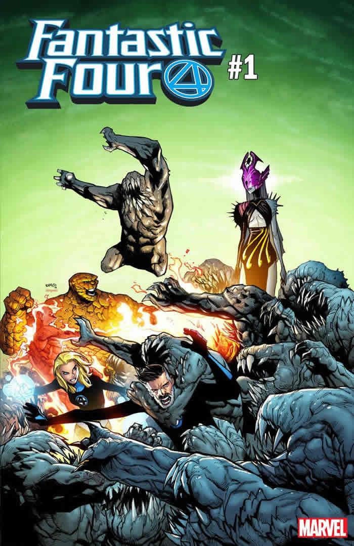 Fantastic Four 1 Ramos Variant