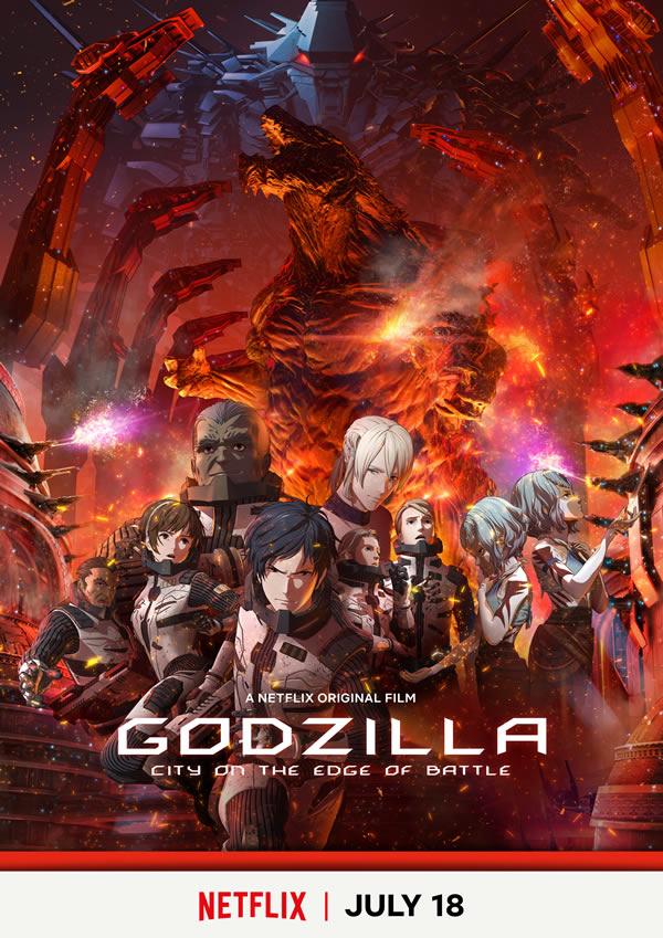 Godzilla - Anime Netflix