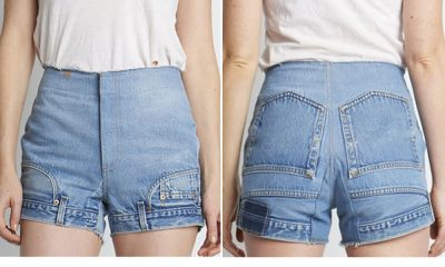 i jeans sottosopra