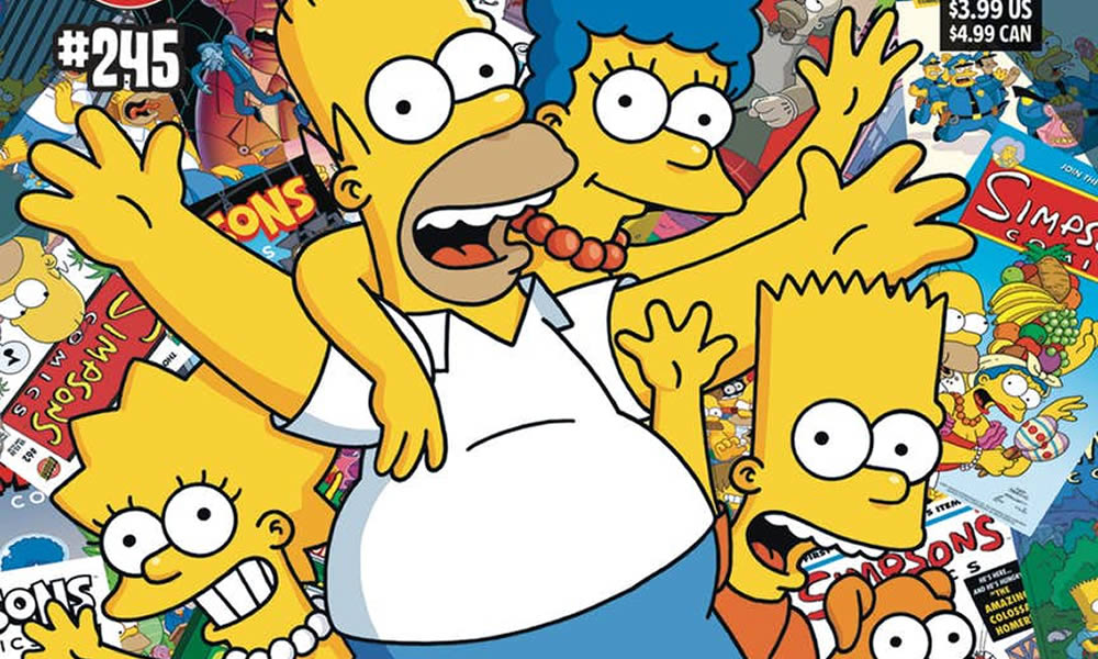 Simpson Fumetto