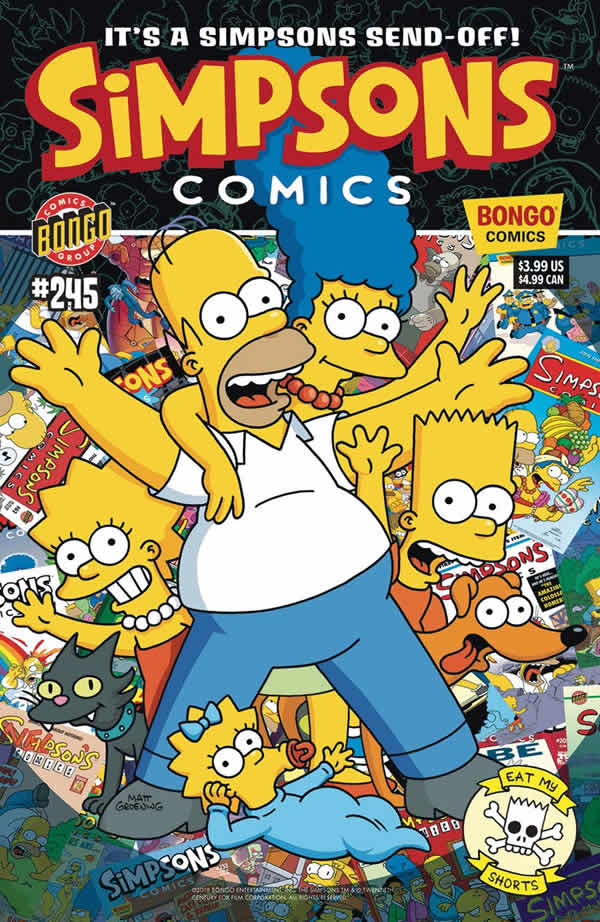 Simpsons Comics 245 - Ultimo fumetto dei Simpson