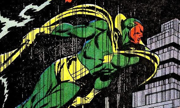 Visione nascita in Avengers 57