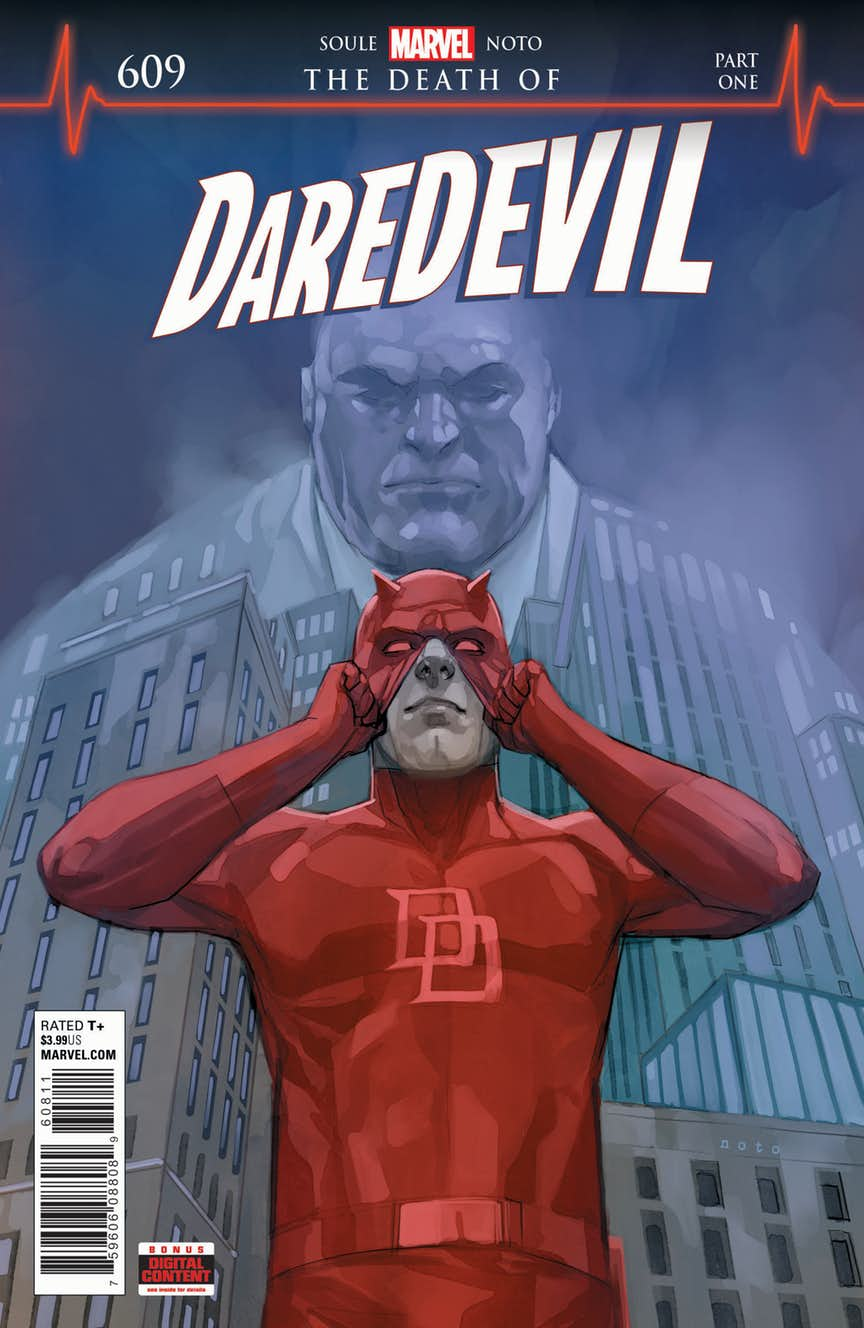 Morte Daredevil - Copertina n.609