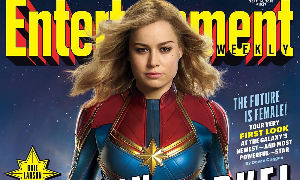 Captain Marvel - prima foto ufficiale