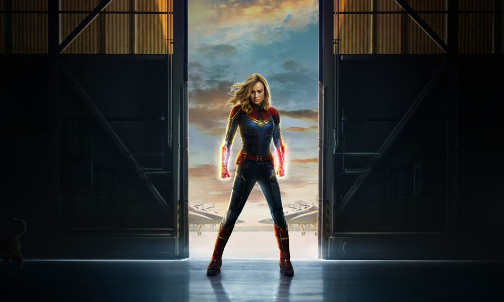 captain marvel trailer e locandina
