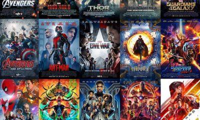 marvel film ordine - tutti i posters
