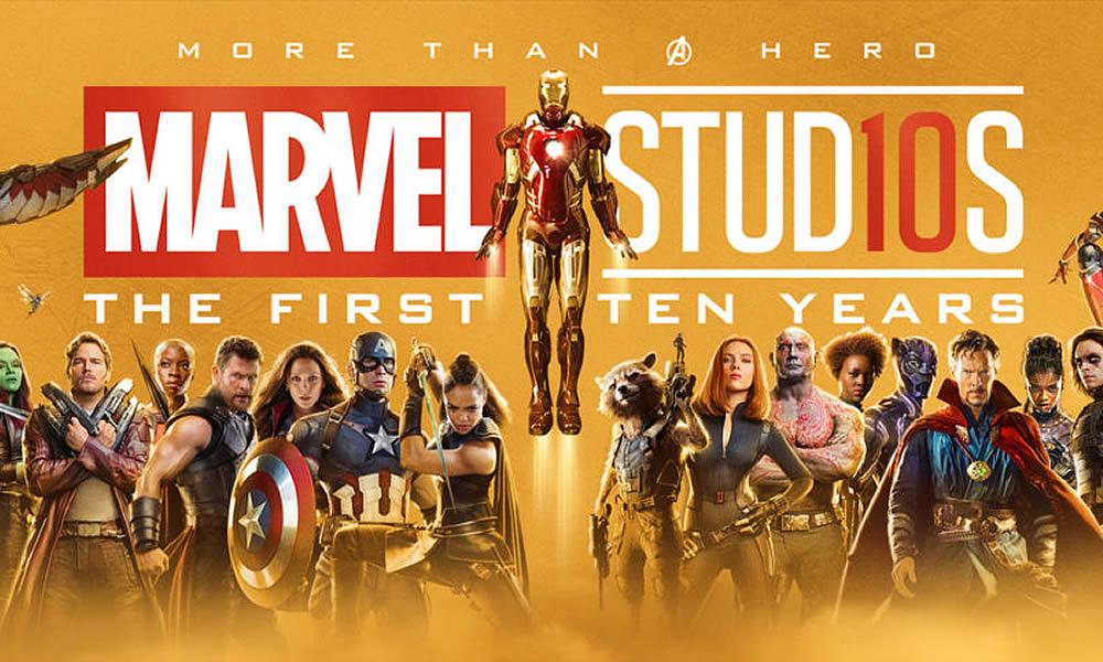 marvel posters 10° anniversario