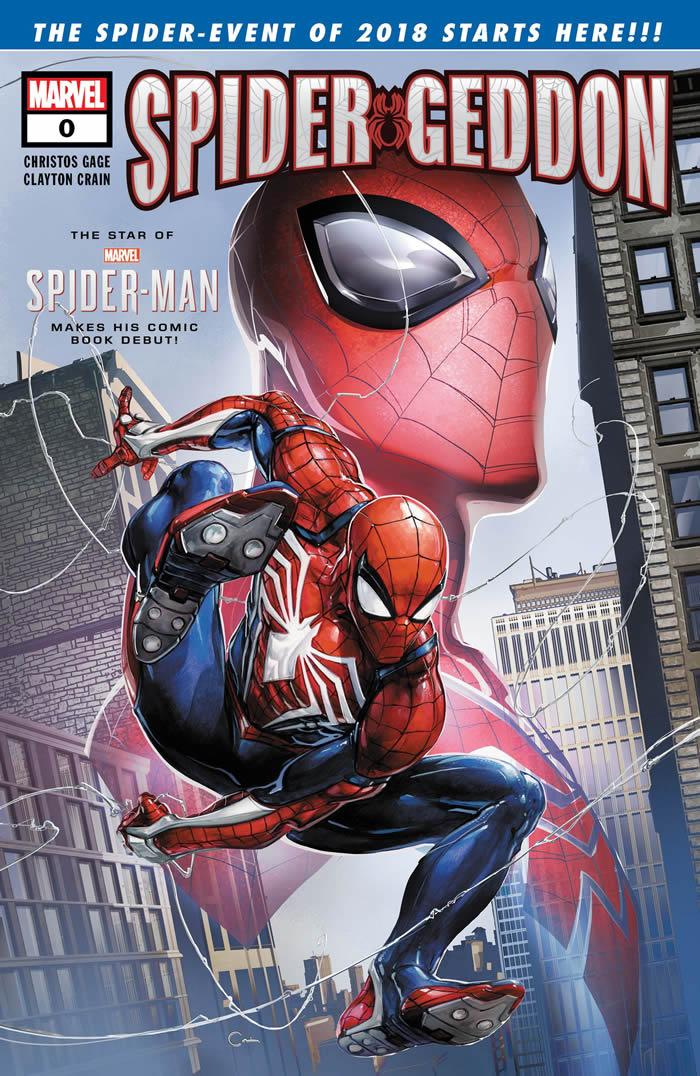 Spider-Geddon 0, lo Spider-Man del videogame