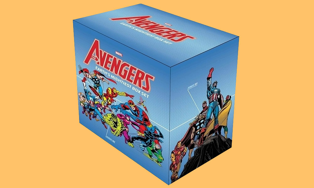 Avengers Earth's Mightiest Box Set Slipcase
