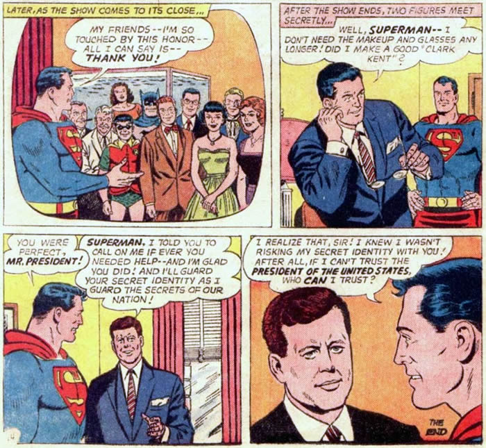 kennedy in action comics 309