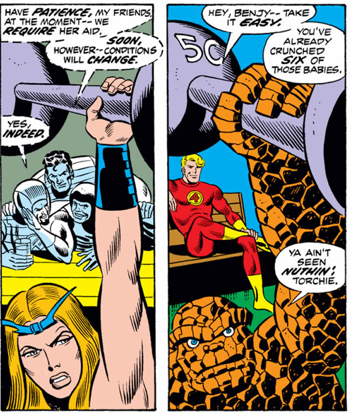thundra in fantastic four 133