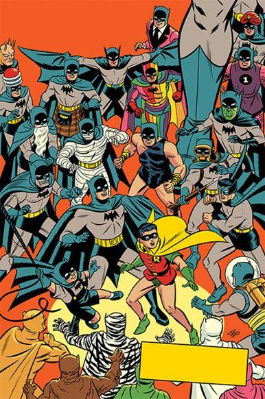 Detective Comics 1000 - Variant anni 1950