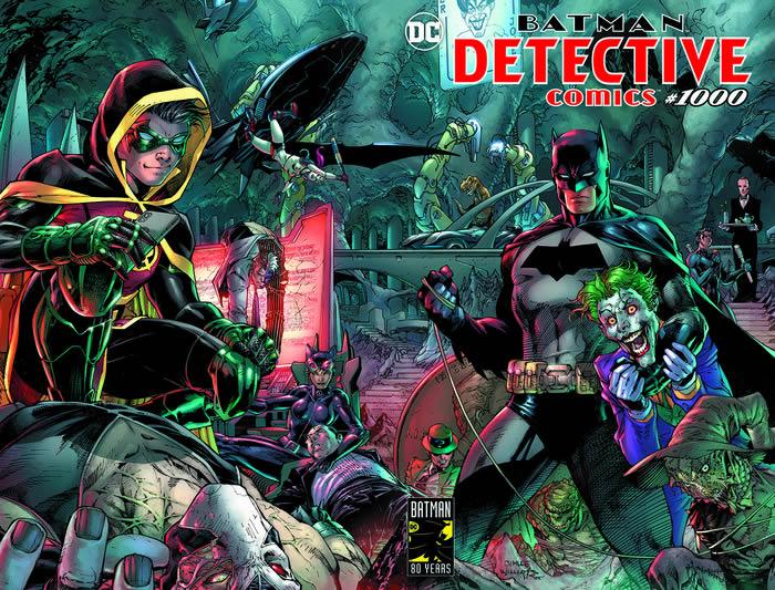 DETECTIVE COMICS 1000 - la copertina