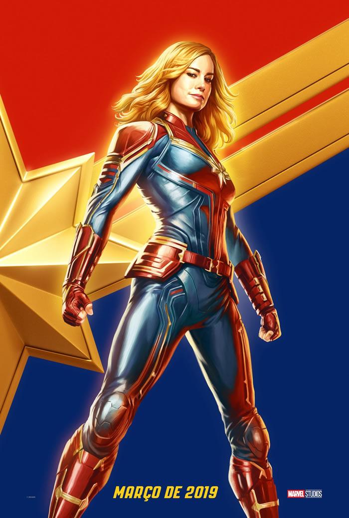 Poster di Captain Marvel