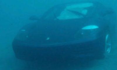 Ferrari nell'Oceano a Palm Beach