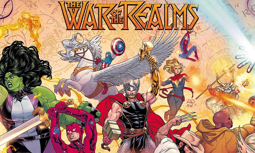 War Realms Marvel