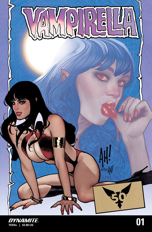 Vampirella by Adam Hughes