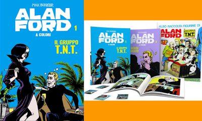 Alan Ford a colori con Gazzetta dello Sport