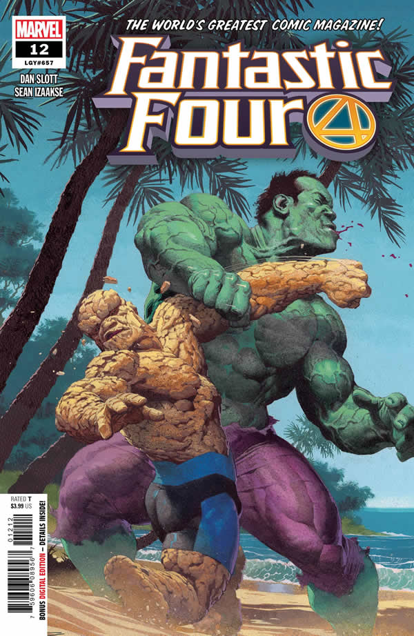 Fantastic Four Hulk vs la Cosa