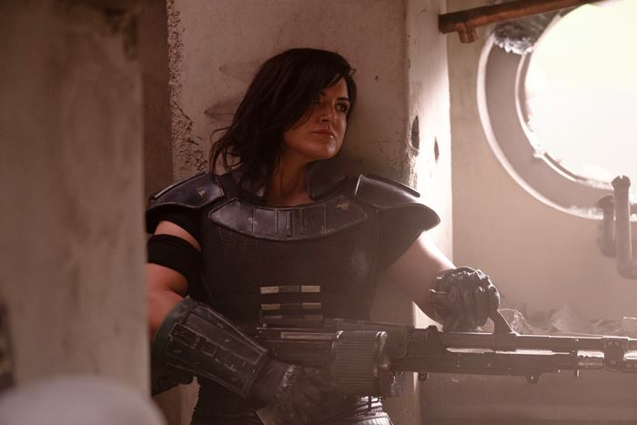 The Mandalorian Immagine Gina carano
