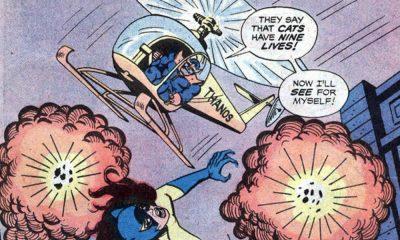 Thanos con l'elicottero