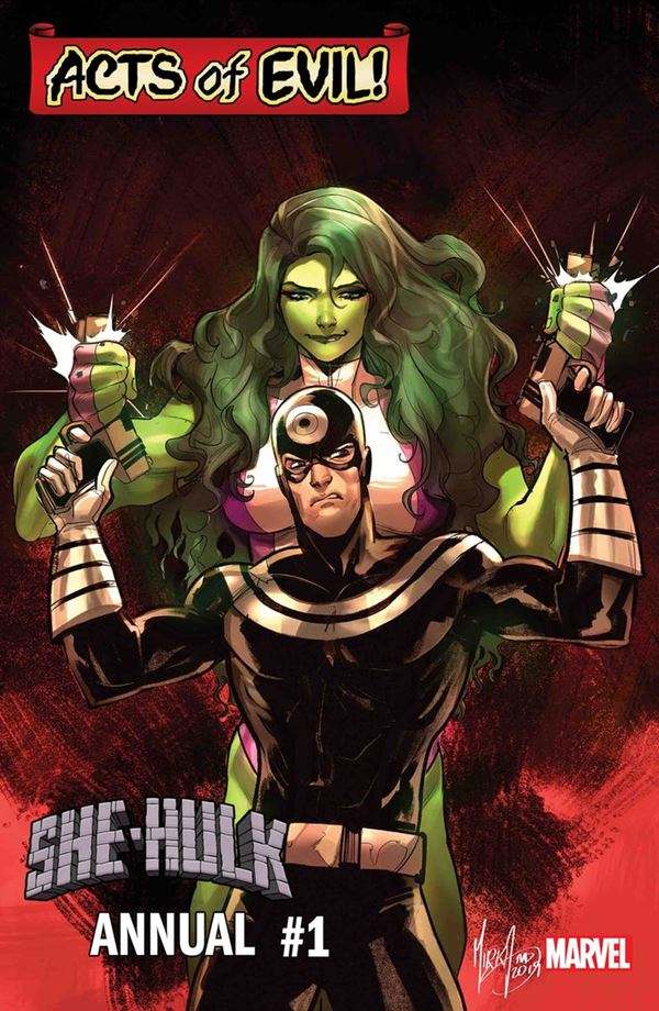 Acts of Evil Marvel - She Hulk