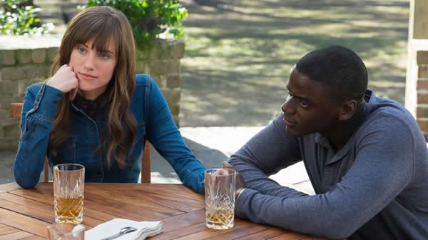 Get Out - Allison Williams e Daniel Kaluuya