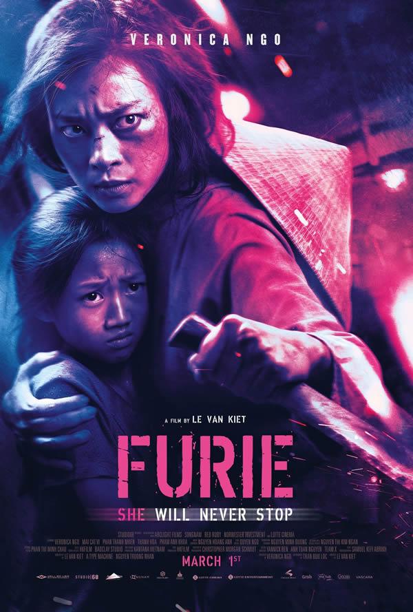 Furie, film d'azione su Netflix