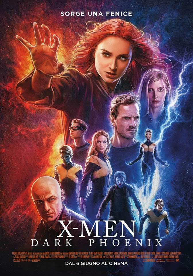 X-Men - Dark Phoenix - Poster