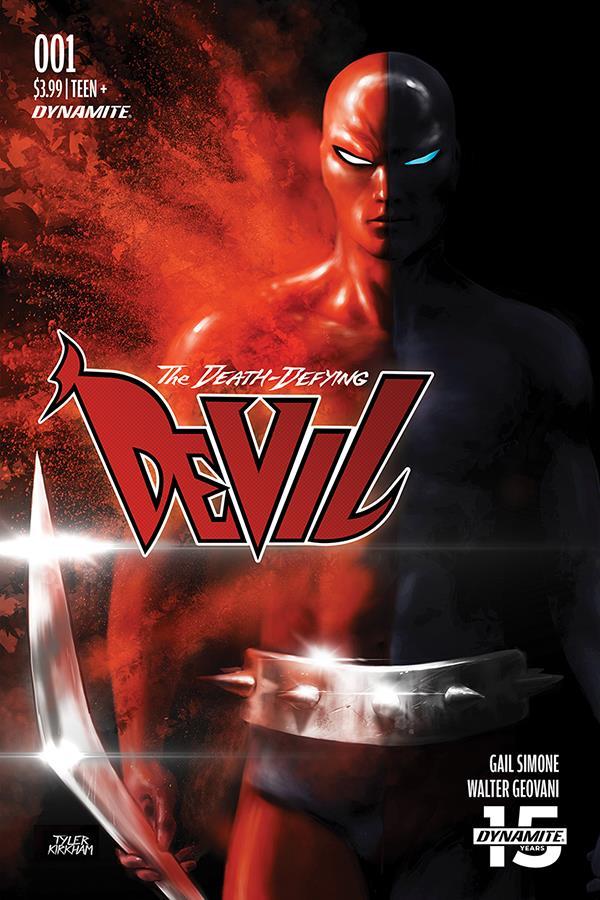 Death Defying 'Devil - Dynamite rilancia il Daredevil della Golden Age