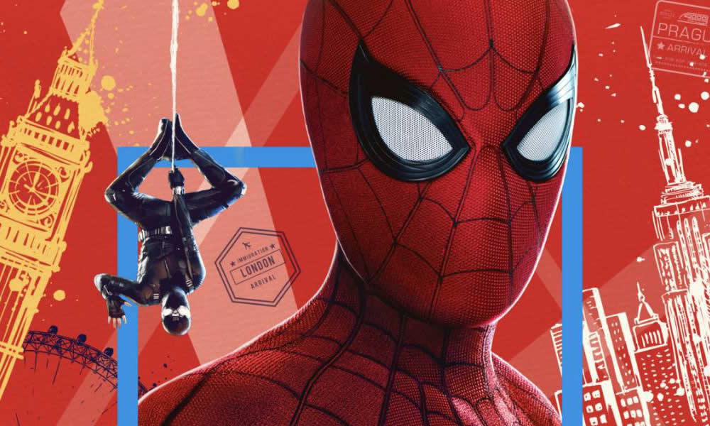 Spider-Man Far From Home poster IMAX