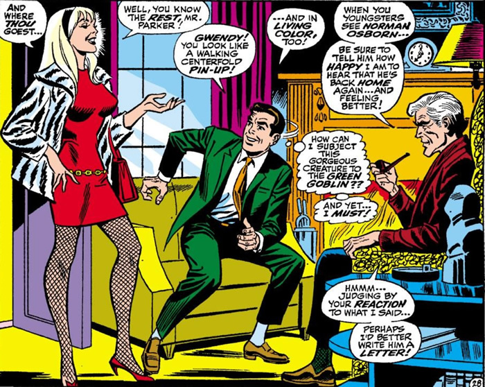 Gwen Stacy in Spectacular Spider-man 2