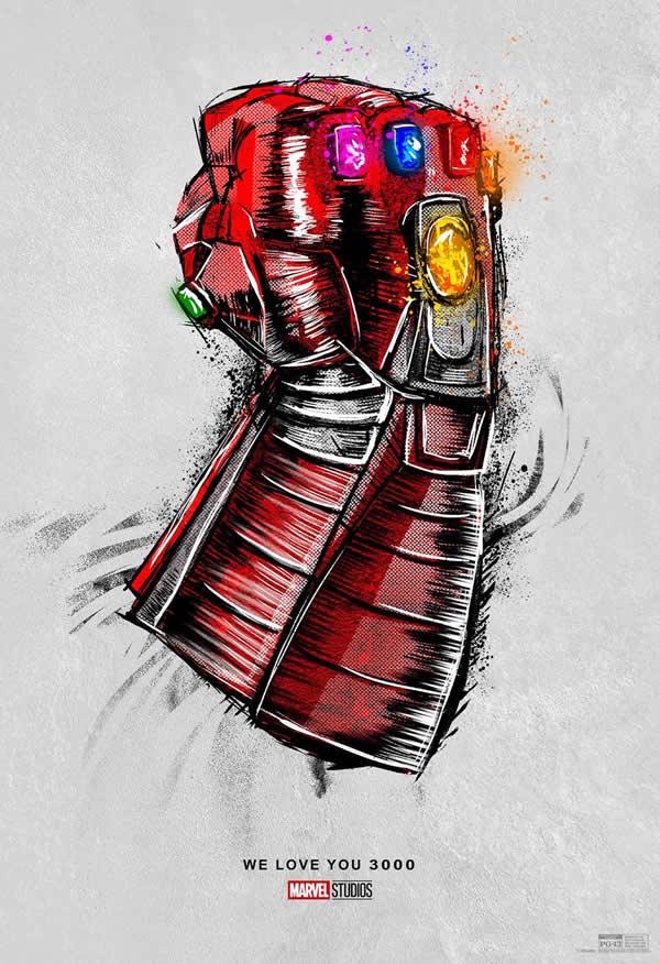 Avengers Endgame, il poster della re-release