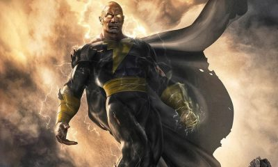Black Adam film Dc con The Rock