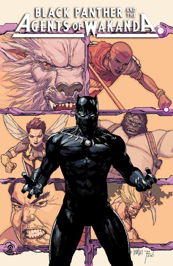 Black Panther Agents of Wakanda