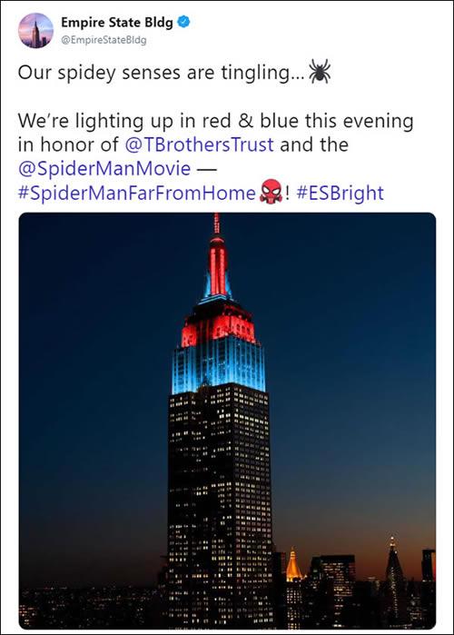 Empire State Building Spider-Man