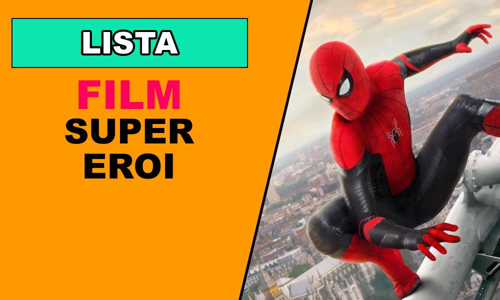 Supereroi Film in uscita