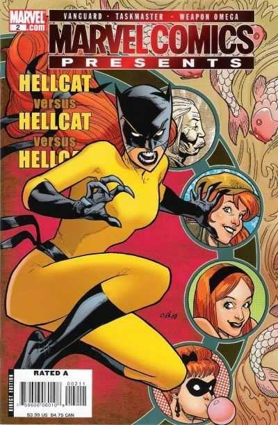 Hellcat costume giallo e blu