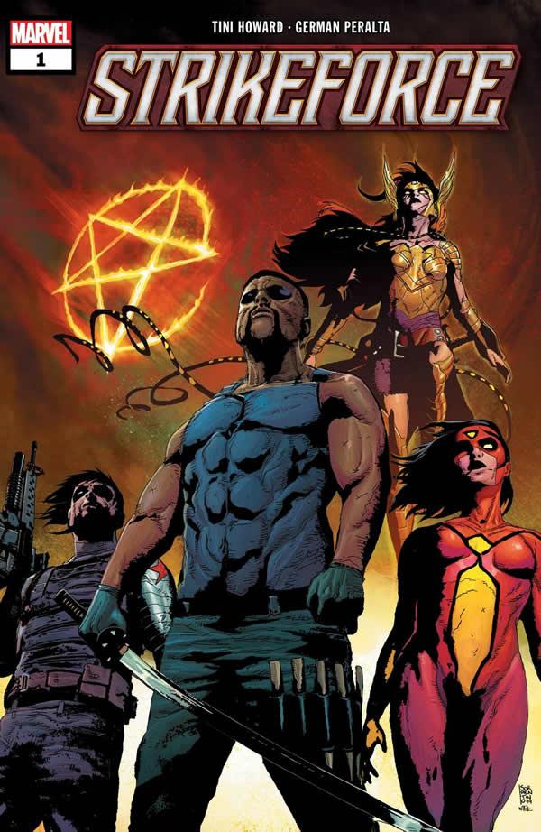 Strikeforce Marvel: copertina del #1 di Andrea Sorrentino