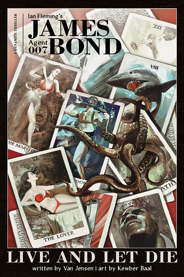 James Bond fumetti: Live and Let Die da Dynamite